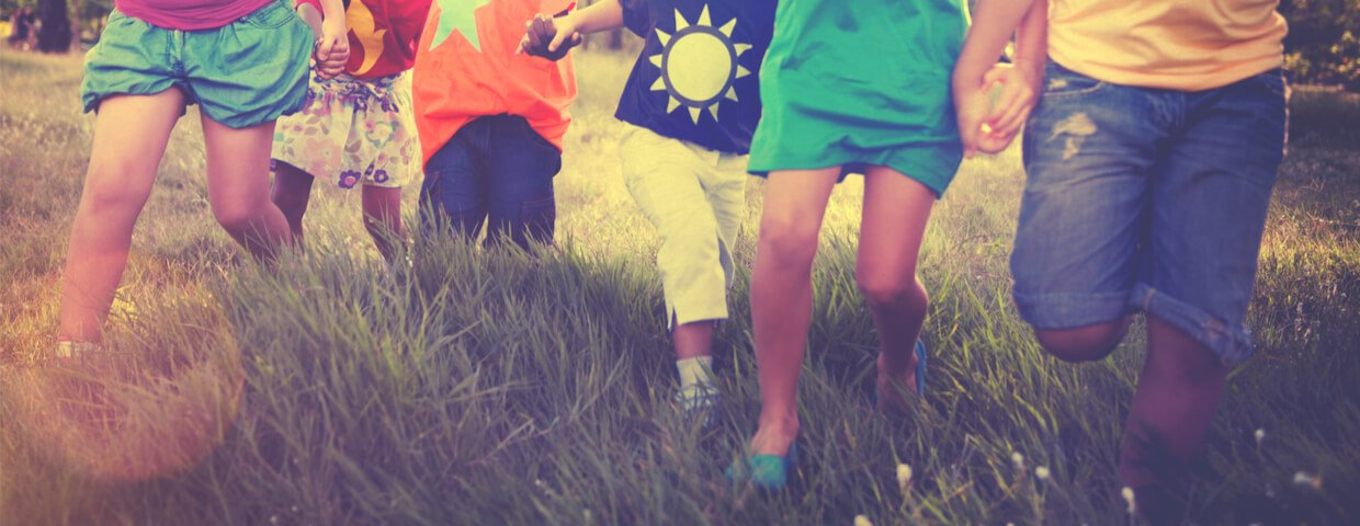 Children Friendship Togetherness Smiling Happiness Concept